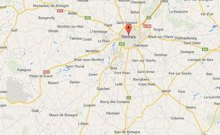 google map rennes