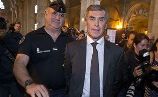Jérôme Cahuzac, à l'ouverture de son procès, lundi 5 septembre.