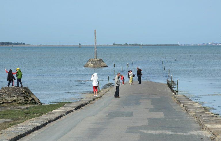 Noirmoutier passage du Gois