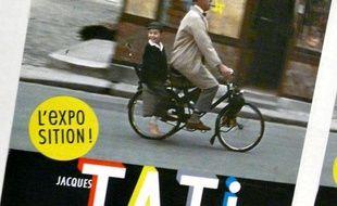 Sur l'affiche annonçant la rétrospective Jacques Tati, M. Hulot avait égaré sa pipe à la mi-avril 2009.