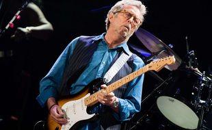 Eric Clapton en concert au Royal Albert Hall, à Londres, le 14 mai 2015.