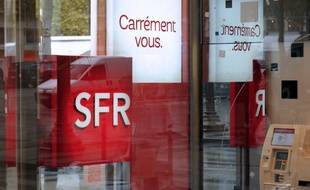 Une boutique SFR - Illustration