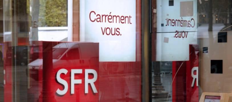 Une boutique SFR - Illustration