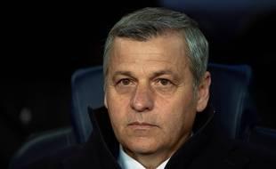 Bruno Genesio, ici la semaine passée lors du 8e de finale retour de Ligue des champions au Camp Nou