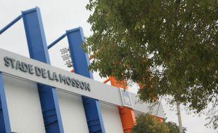 Le stade de la Mosson.