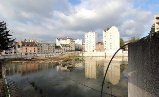 Le terrain était à l'abandon, en plein centre-ville de Rennes.
