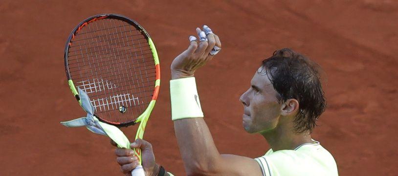 Rafael Nadal s'est qualifié pour les 8e de finale de Roland-Garros face à David Goffin.