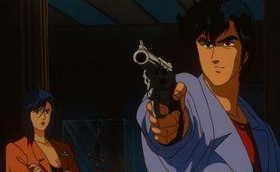 Nicky Larson (Ryo Saeba), le détective privé obsédé (mais néanmoins efficace) inventé par l'auteur de manga Tsukasa Hōjō.
