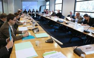 Le lancement des négociations paritaires sur les retraites complémentaires le 22 novembre 2012.