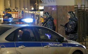 Après l'attaque près du siège des renseignements russes, à Moscou, jeudi.