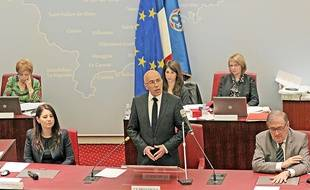 Eric Ciotti au conseil départemental des Alpes-Maritimes (Archives)