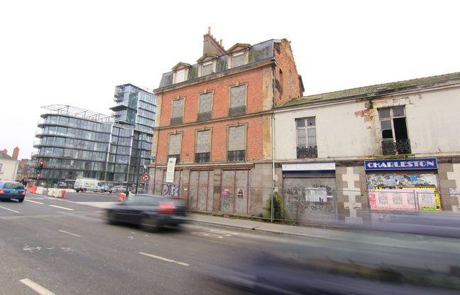 Rennes face cap mail l 39 ancien charleston va dispara tre - Immeuble jean nouvel rennes ...