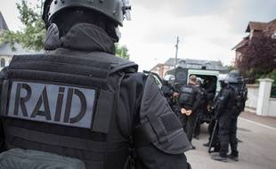Un policier du Raid (Illustration)