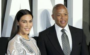 Les époux Nicole Young et Dr. Dre, aujourd'hui en instance de divorce