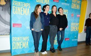 Camille Chamoux,Aure Atika,Emmanuelle Bercot,Virginie Ledoyenn au Printemps du Cinéma le 22 mars 2015