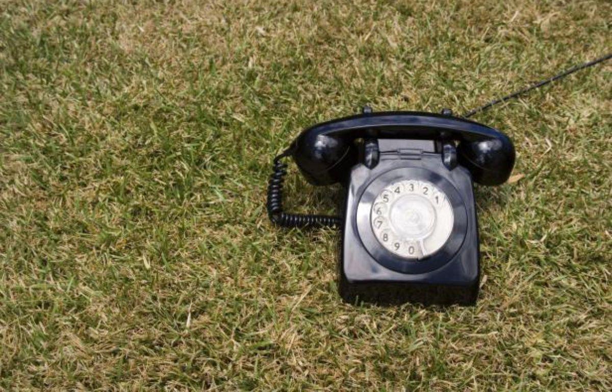 Un téléphone fixe. – SUPERSTOCK/SUPERSTOCK/SIPA
