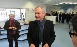 François de Rugy a voté à Nantes pour le premier tour de la primaire à gauche