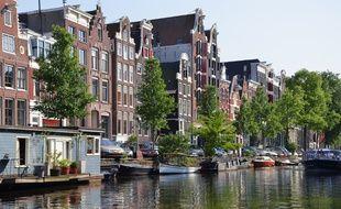 Illustration d'Amsterdam