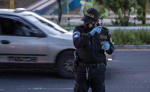 Un policier au Guatemala, le 18 juillet 2020 (illustration).