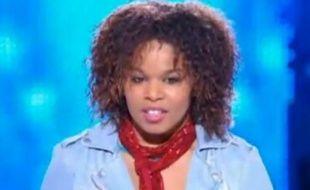 Melissa, éliminé de La Nouvelle Star à l'issue du 3e prime