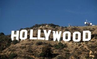 Le panneau Hollywood, situé sur le mont Lee.
