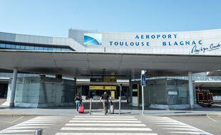 L'aéroport de Toulouse-Blagnac en période de crise sanitaire.
