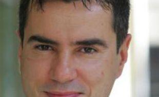 Le journaliste de France Télévision Laurent Luyat en 2007.