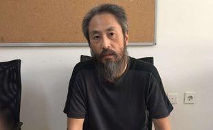 Jumpei Yasuda, journaliste japonais, a été enlevé en Syrie par Daesh en juin 2015 et libéré en octobre 2018.