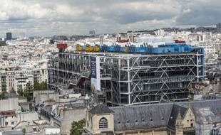 Le Centre Pompidou a été construit sur le plateau Beaubourg, un ancien îlot insalubre de Paris.