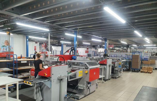 Le laboratoire Cewe, à Fabrègues