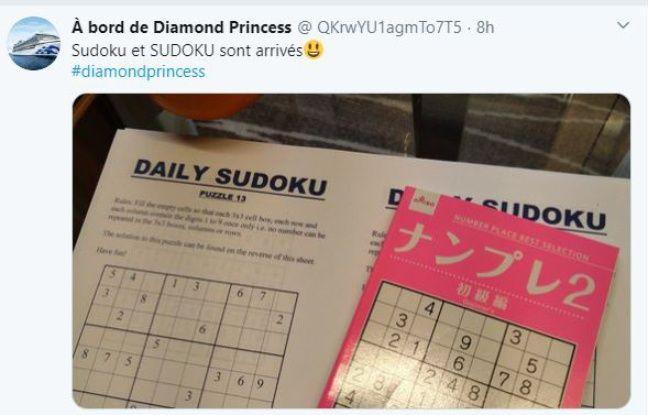 Le quotidien d'un passager du Diamond Princess pendant la quarantaine.