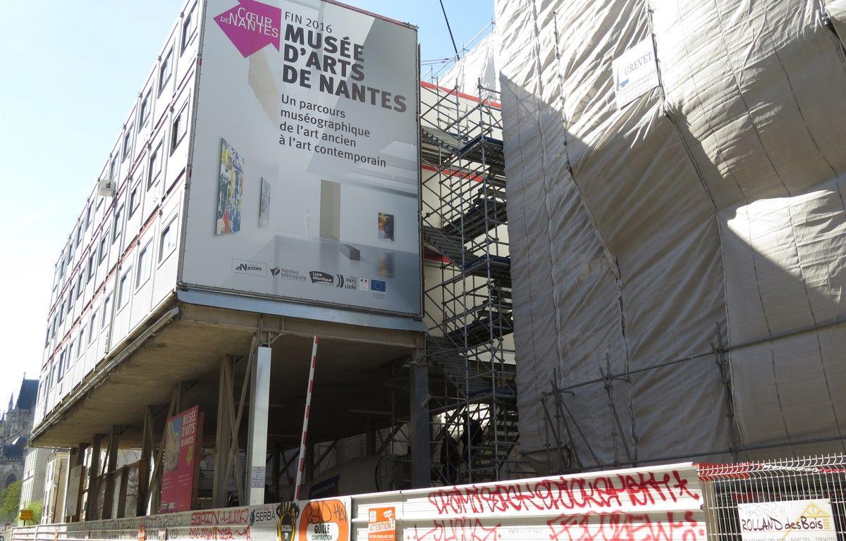 Nantes l 39 norme chantier du mus e des beaux arts se d voile - Musee des beaux arts nantes ...
