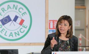 La présidente sortante (PS) de la région Occitanie, Carole Delga.