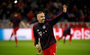 Franck Ribéry va dire au revoir au Bayern Munich.