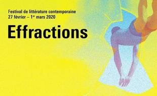 Visuel de l'édition 2020 du festival Effractions