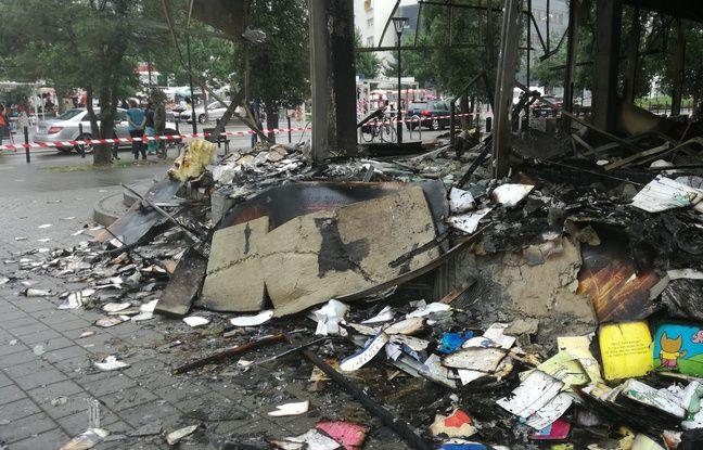 La bibliothèque associative du quartier Malakoff a été incendiée