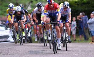 Fabio Jakobsen, ici le 5 juillet 2020, a été touché au crâne et au cerveau, lors de la terrible chute à l'arrivée de la première étape du Tour de Pologne.