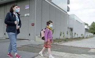 Coronavirus: Du chômage partiel pour les salariés contraints de garder leurs enfants et ne pouvant télétravailler (illustration).