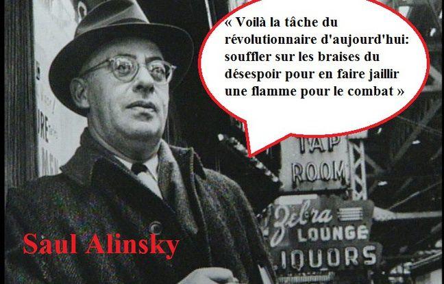 Citation du sociologue américain Saul Alinsky