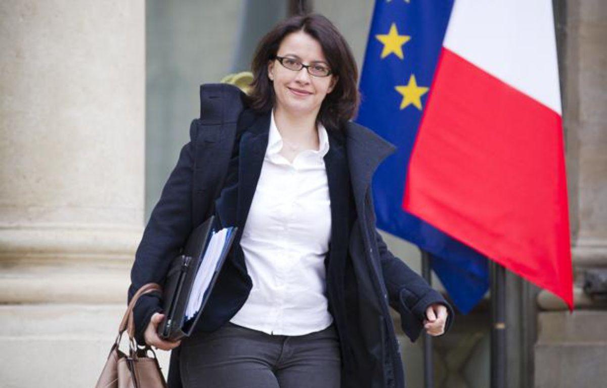 Cécile Duflot à la sortie d'un conseil des ministres, à Paris le 10 avril 2013. – V. WARTNER / 20 MINUTES