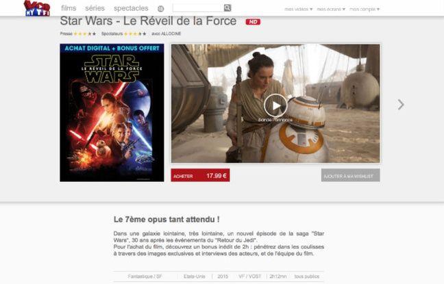 Star Wars: Le Réveil de la Force a été le film le plus téléchargé légalement en 2016.