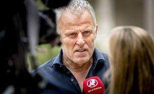 Le journaliste néerlandais spécialisé dans les affaires criminelles Peter R. de Vries, à Arnhem (Pays-Bas) en 2017.