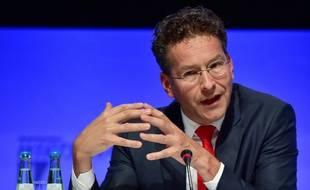 Le président du groupe des 19 pays de la monnaie unique, Jeroen Dijsselbloem