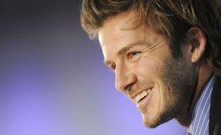Le footballeur anglais David Beckham, le 1er décembre 2010.