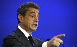 Nicolas Sarkozy à Paris le 9 mars 2016