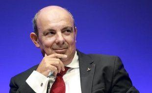 Le PDG de Dassault Aviation, Eric Trappier le 9 septembre 2014 à Toulouse