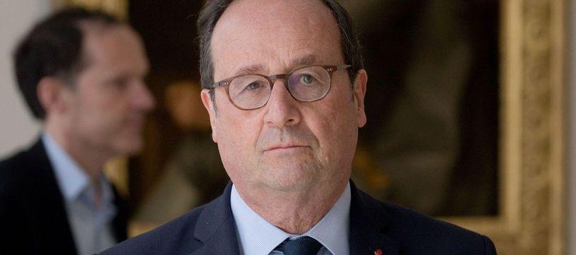 François Hollande au musée des Beaux-arts de Dijon le 17 mai 2019