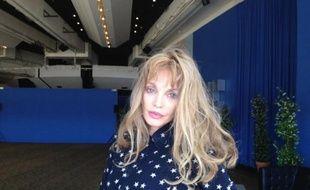 """Arielle Dombasle le 24 mai à Cannes pour son film """"Opium"""""""
