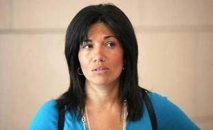 La sénatrice socialiste Samai Ghali, le 3 mai 2011.
