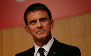 Le Premier ministre Manuel Valls le 3 novembre 2015 à Paris